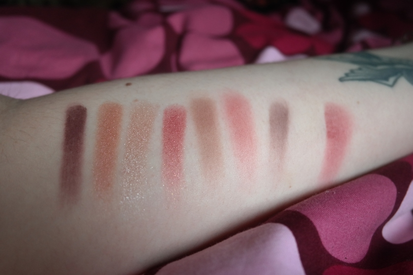 Swatch Huda beauty