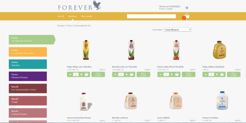 ouvrir la boutique en ligne  en 4 étapes