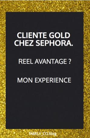 gold chez sephora