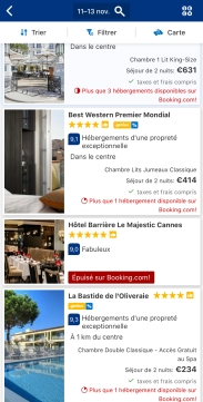 Reserver sur booking