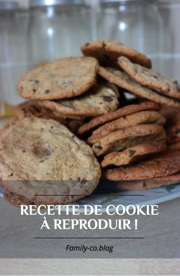 Recette cooki